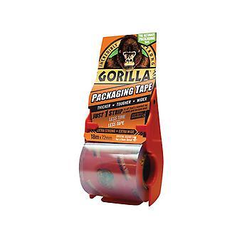 Gorilla Glue Gorilla Packaging Tape 72mm x 18m Dispenser GRGPKTAPE18