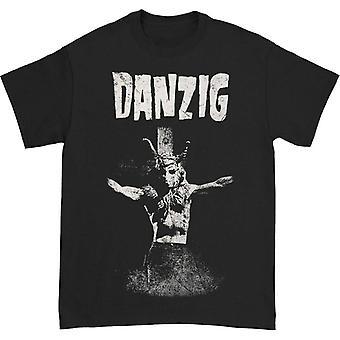 Danzig Skullman On Cross T-shirt