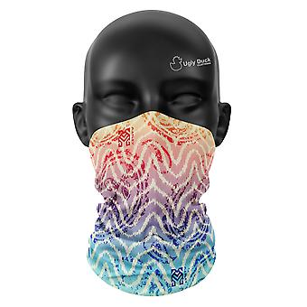 Ombre Paisley Colours Snood Face Mask Scarf Neckerchief Head Covering Tube Buff
