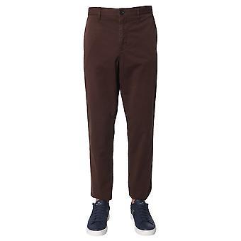Ps Door Paul Smith M2r959rc2001268 Men's Brown Cotton Pants