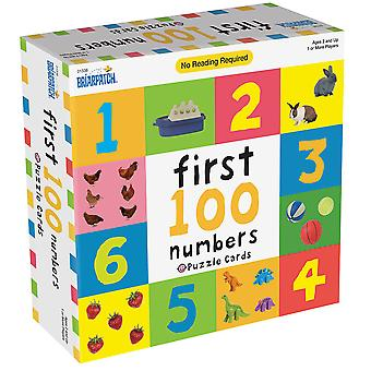 First 100 Numbers Puzzle Cards