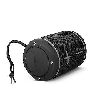 Portable Bluetooth Speaker 360 ° Sound Waterproof IP67 Bike Holder LinQ Black