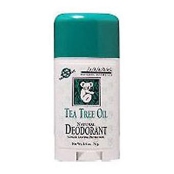 Jason Natural Products Deodorant Tea Tree Oil, TEA TREE OIL STIK, 2.5 OZ