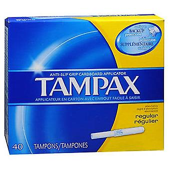 Tampax Tampons With Flushable Applicator Regular Absorbancy, 40 each