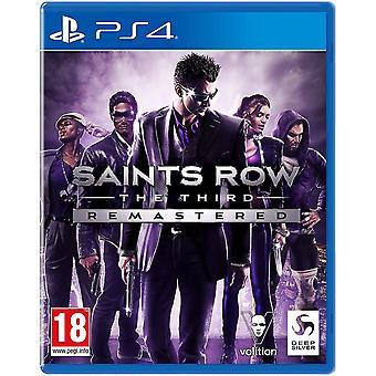 Saints Row De derde geremasterde PS4-game