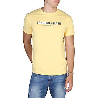 Hackett hm500321 men's näkyvä logo print t-paita