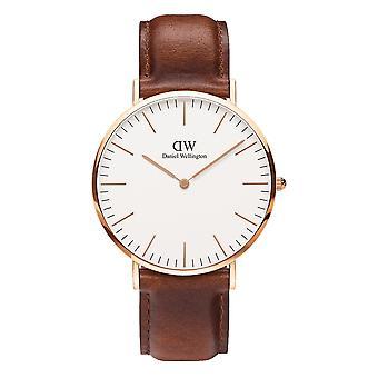 Daniel Wellington DW00100006 St Mawes Brown Strap Wristwatch