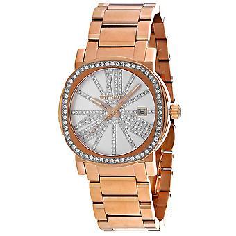 Wittnauer Women's Ceramic Silver Dial Watch - WN4008