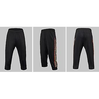 Men Soccer Training Pants With Zip Pocket