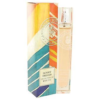 Sunset Dreams Eau De Parfum Spray By Caribbean Joe 3.4 oz Eau De Parfum Spray