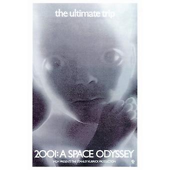2001 Space Odyssey elokuvan juliste tulosta (27 x 40)