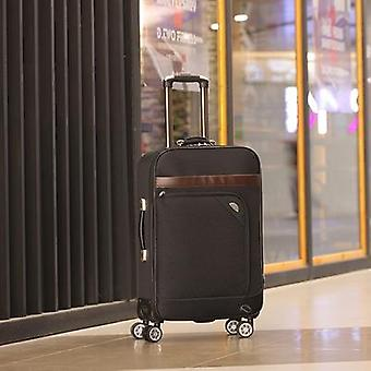 Letrend Men Business Spinner Rolling Luggage Set Women Password Suitcase Wheels