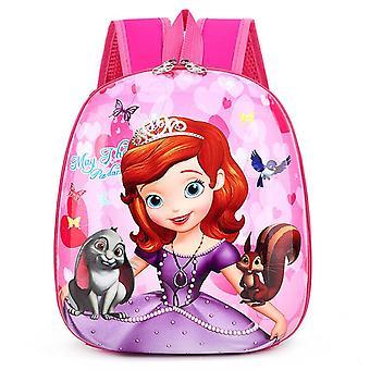 Disney's Cartoon Frozen Elsa Anna Backpack, Spiderman/ Car Pattern Bags