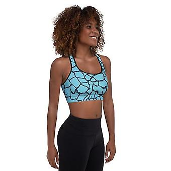 Blue Abstract Fitness Set
