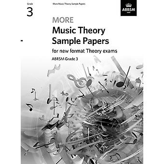 More Music Theory Sample Papers Grade 3 by ABRSM