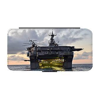 Amfibiskt Anfallsfartyg iPhone 12 / iPhone 12 Pro Plånboksfodral