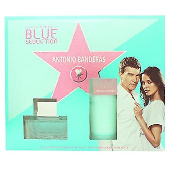 Antonio Banderas Blue Seduction for Women Gift Set 50ml EDT + 100ml Body Lotion