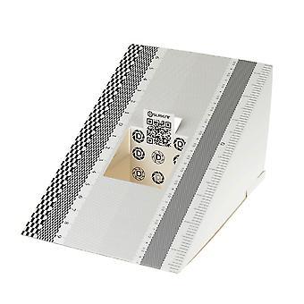 Dslrkit lins fokus kalibrering verktyg justering linjal fällbart kort (förpackning med 2)