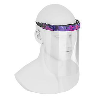 Purple Dreams-foam Paded, Full Face Visor Shield