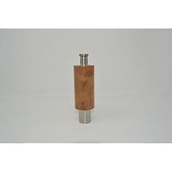 Wood Spice Mill Enhandskvarn av ekpepparkvarn Saltkvarn peppar Kryddsaltkvarn handgjord Made in Austria presentgåva idé