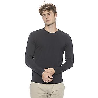 Alpha Studio Men's Blue Sweater