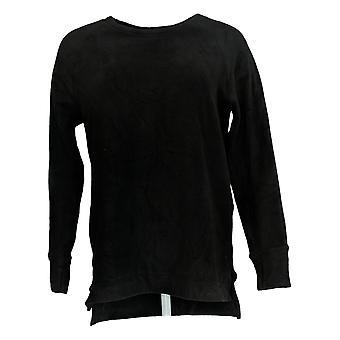 Cuddl Duds Femmes & s Fleecewear Stretch Crew Neck Long Sleeve Black A368473