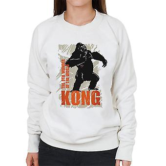 King Kong Roaring Den 8: e Wonder of the World Women's Sweatshirt
