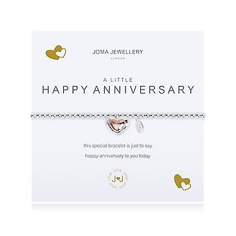 ג'ומה תכשיטים צמיד יום נישואין שמח קטן 2081
