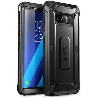 SUPCASE Galaxy Note 8 Kotelo Yksisarvinen Beetle Shield -sarjan kotelokotelo musta / musta