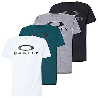 Oakley Mens 2021 Enhance QD Sci O Bark 11.0 Hydrolix Stretch Wicking T-Shirt