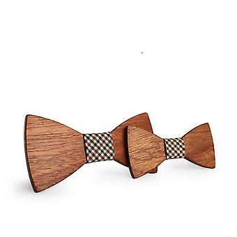 Gravata borboleta de madeira, Necktie Kids