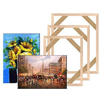 Wooden Canvas Frame For Oil Painting Stretcher Home Decoration