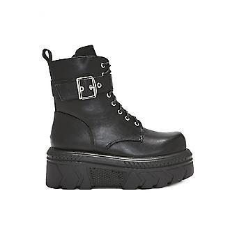 Koi Footwear Buckle PU Ankle Boot