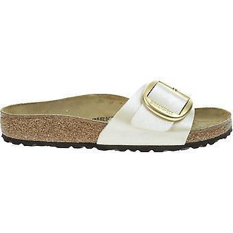 Birkenstock Madrid Big Buckle 1015278WHITE universaalit kesä naisten kengät