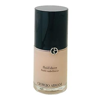 Giorgio Armani Armani Fluid Sheer Foundation 30ml #7 -Box Imperfect-