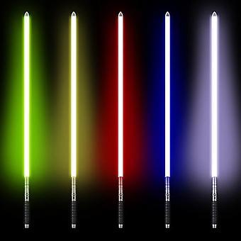 Rgb Star Light Saber Metal Sword Laser Cosplay Luminous Toy