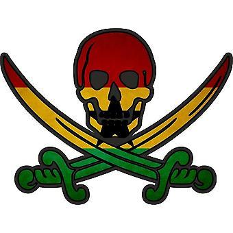 Tarra tarra merirosvo jack rackham calico maa lippu GH Ghana