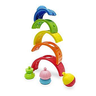 Lalaboom rainbow balancing game