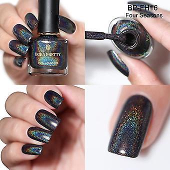 Nail Polish Series, Laser Varnish, Shining Glitter,  Art Chrome