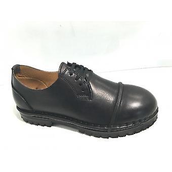 Мужская / Женская обувь Головокружение Ручная работа Черная кожаный бак 3 см 17dz01