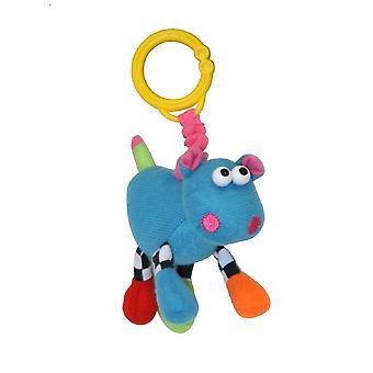 Lorelli Peluche Juguete Hippo Vibración 10 cm Cuddly Toy C-Ring casa sobre la marcha