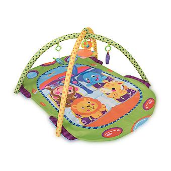 Lorelli Crawler Blanket Play Mat Bus Play Bow Mirror Rattle Colores Coloridos