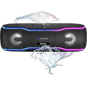 HanFei kabelloser Bluetooth Lautsprecher (IPX7 wasserdicht, 20W Laustprecher, eingebautes Mikrofon,