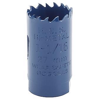 Draper 34755 asiantuntija 27mm HSS Bi-Metal Holesaw terä