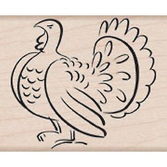 Hero Arts Turkey Rubber Stamp