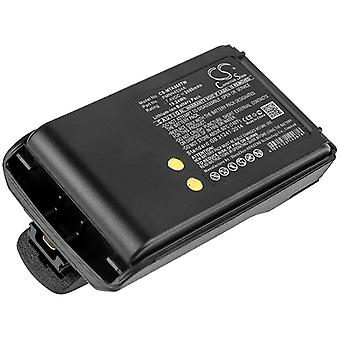 Two-Way Radio Battery for Motorola PMNN4534A Mag One A8 MagOne A8D A8i 2600mAh