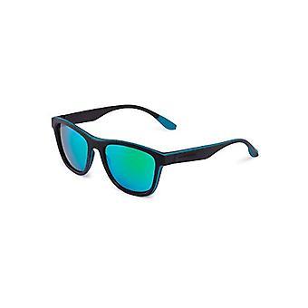 HAWKERS Black-Green Rubber Emerald One Sport Glasses, Matt Black/Green, Nico Unisex-Adult