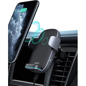 FengChun AUKEY Caricatore Wireless Auto Auto-Bloccaggio Qi Caricabatterie Ricarica Rapida Supporto
