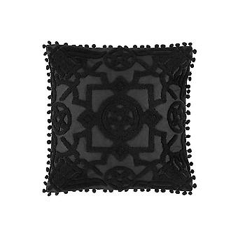 Restyle Blair Burnout Embroidered Cushion Cover