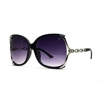 Ruby rocks cherry oversized sunglasses in black